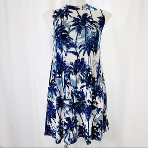Elon Dresses Elan Beach Palm Trees Sleeveless Tunic